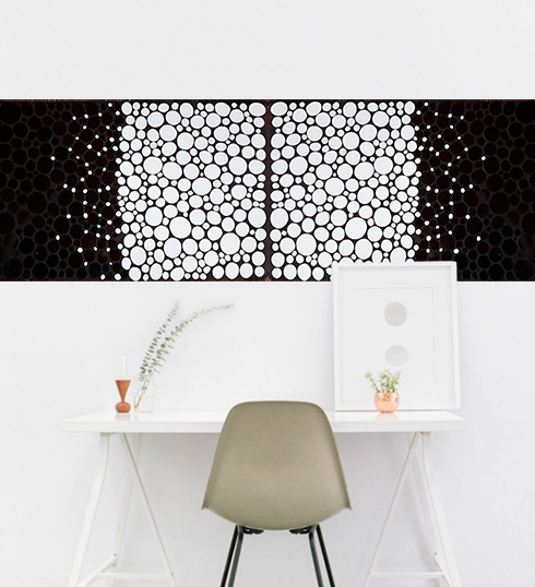Tile Art Lipka - Mosaik im Raum